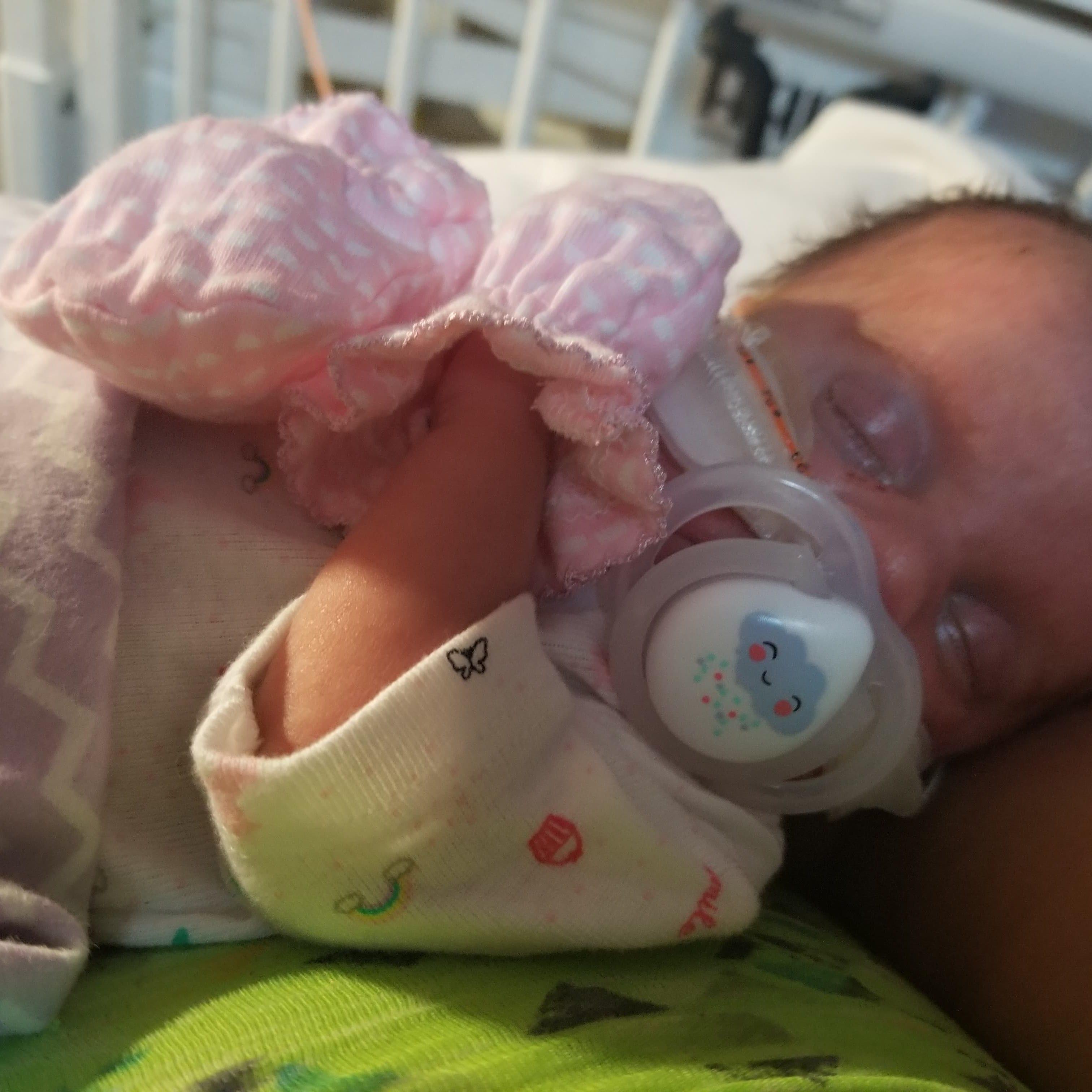 Staunton newborn has rare genetic disease GACI