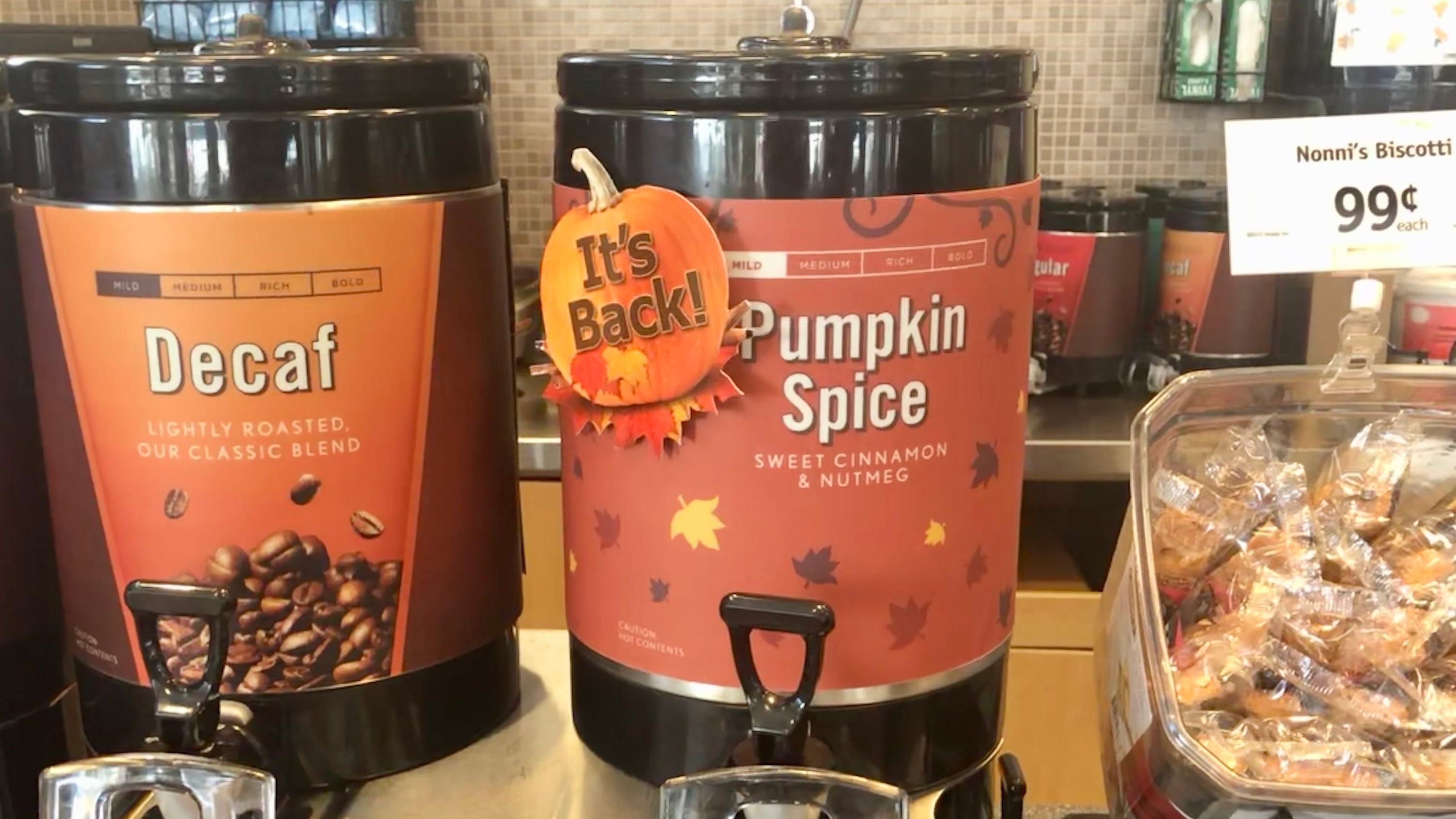 Pumpkin Spice Season Fall Is Back At Dunkin Donuts Wawa And More