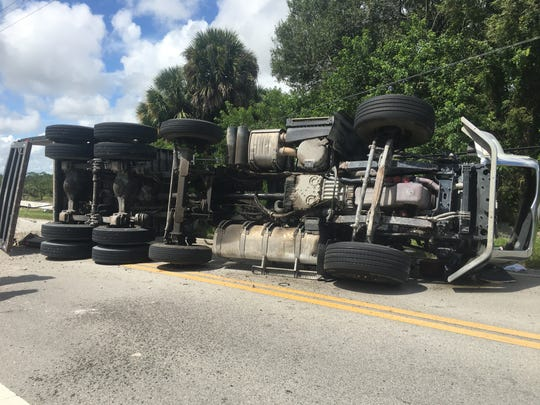 One person was seriously injured in a crash that shut down parts of 66th Avenue in Vero Beach.