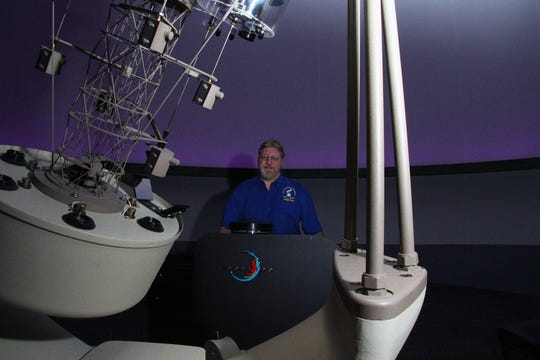 """IRSC Planetarium Director Jon Bell will launch the 2018-19 Planetarium season of shows and events at the inaugural """"Saturday Afternoon STEAM Talk, A Year Full of Stars, Sept. 15, 4 p.m. in the Hallstrom Planetarium in the Brinkley Science Center, on the IRSC Main Campus in Fort Pierce."""