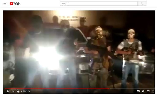 The Artistas Asesinos gang threatens the rival Mexicles in a videos posted by the Juarez street gang on social media.