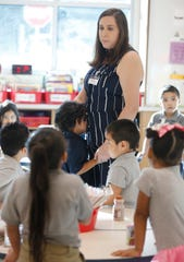 Students in the Ysleta Independent School District returned to school. Over 700 students opened school on a new campus at Thomas Manor Elementary School in El  Paso's Lower Valley.