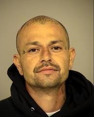 Mario Gaona, 38, of Oxnard, was arrested Friday after reportedly attempting to intimidate victims of a hit-and-run crash in Saticoy.