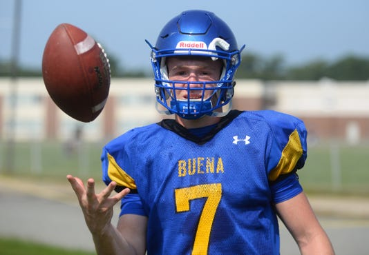 Buena Football Qb Luke Santiago