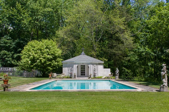 This home at 122 East Ridge Road in Waccabuc was the scene of a wedding reception for Marilyn Monroe and husband Arthur Miller. It is currently on the market for $1,675,000. (Photo: Tim Lee, for Houlihan Lawrence)