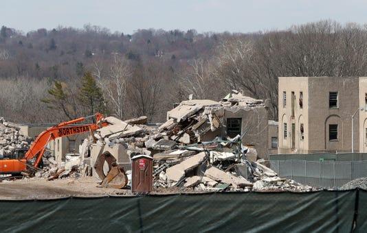 Rockland Psychiatric Site Demolition