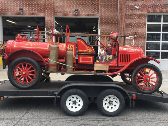 The new -- or, depending on how you look at it, old -- relic was first used in the town's fire department during the late 1920s through the 1930s.