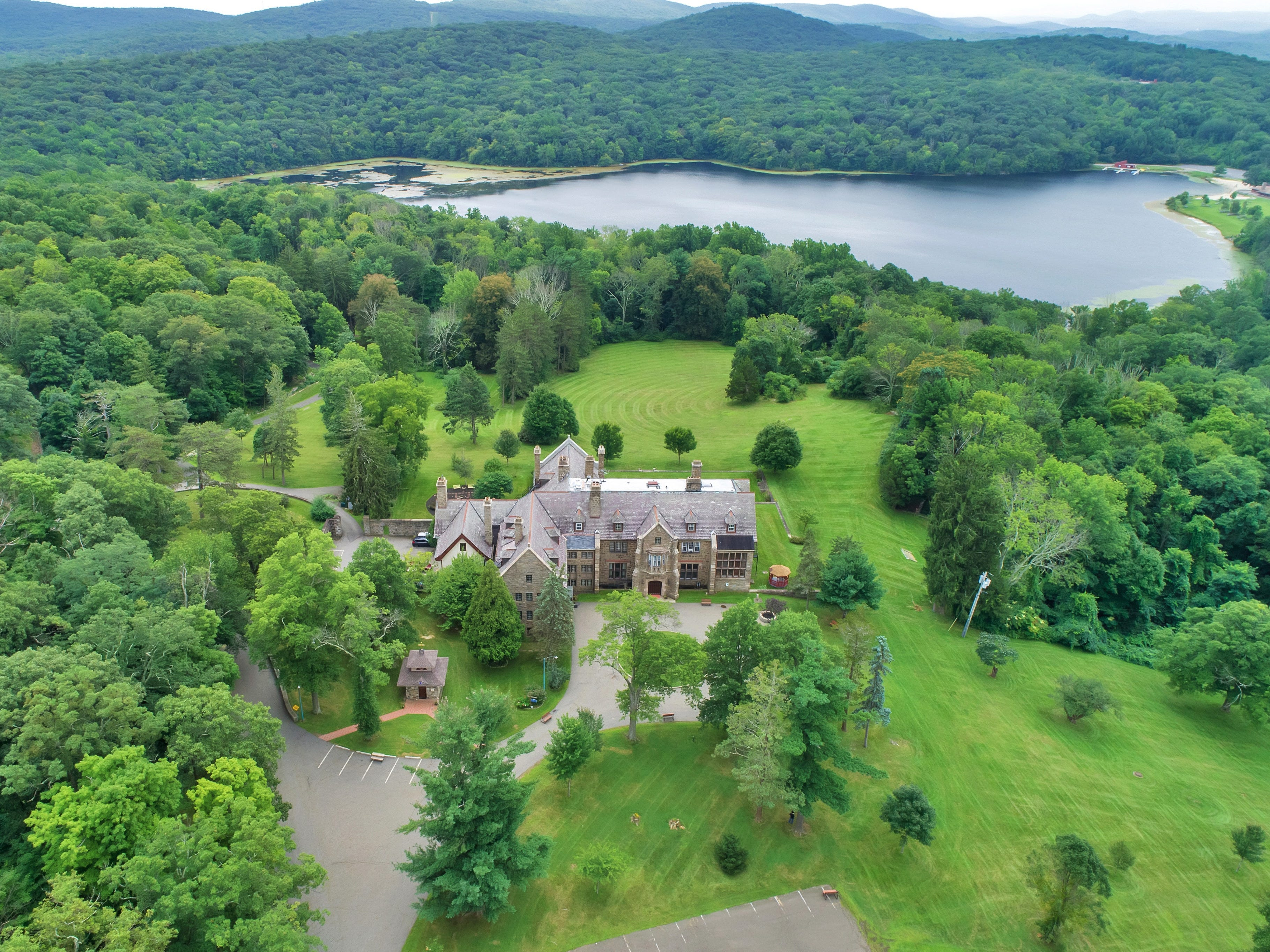 A 40-acre estate at 150 Sisters Servants Lane in Sloatsburg is up for sale at $22 million.