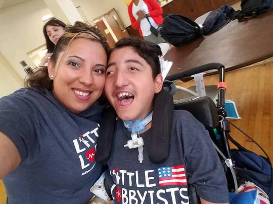 Nancy Lemus' son Christopher has been using medical marijuana since 2009. She  says it has changed his life, allowing him to be back in school and more active.