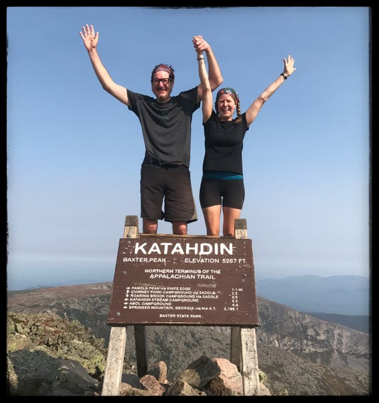 Day 179 Mount Katahdin Maine