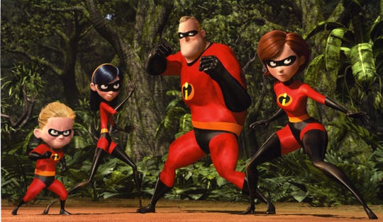 See 'The Incredibles' on Friday, Sept. 14 for free at the CityScape splash pad.