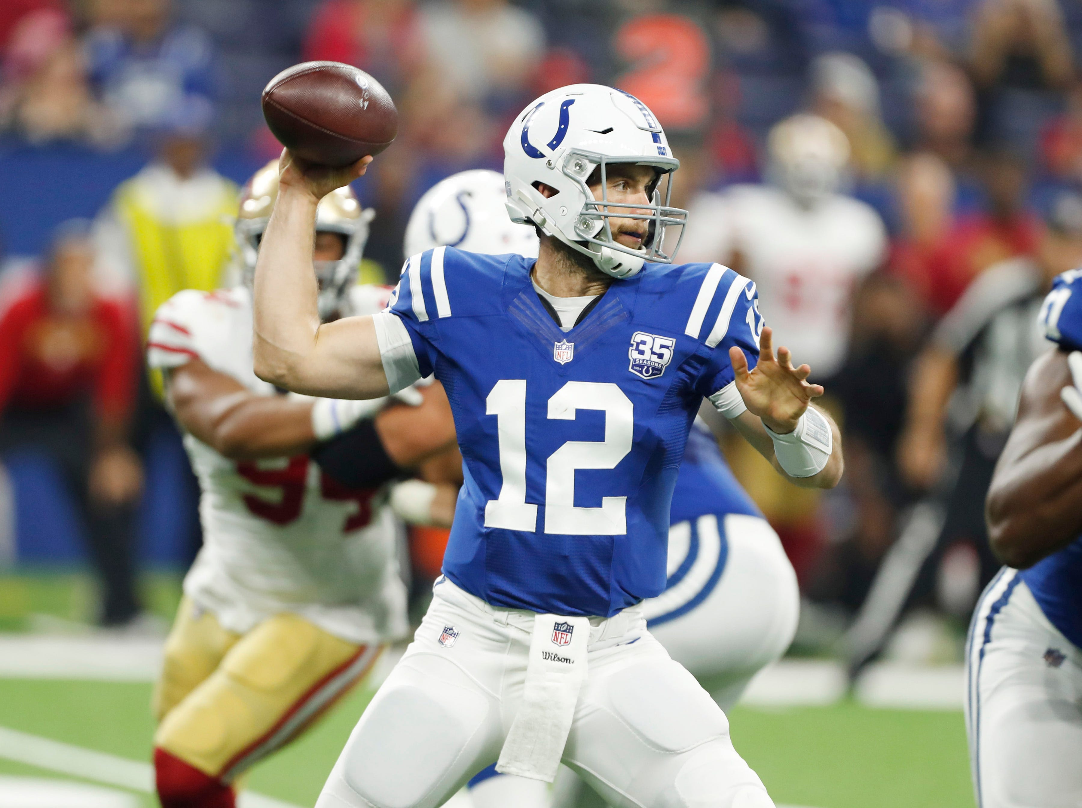 Fantasy football stock watch: Andrew Luck among QBs on the rise