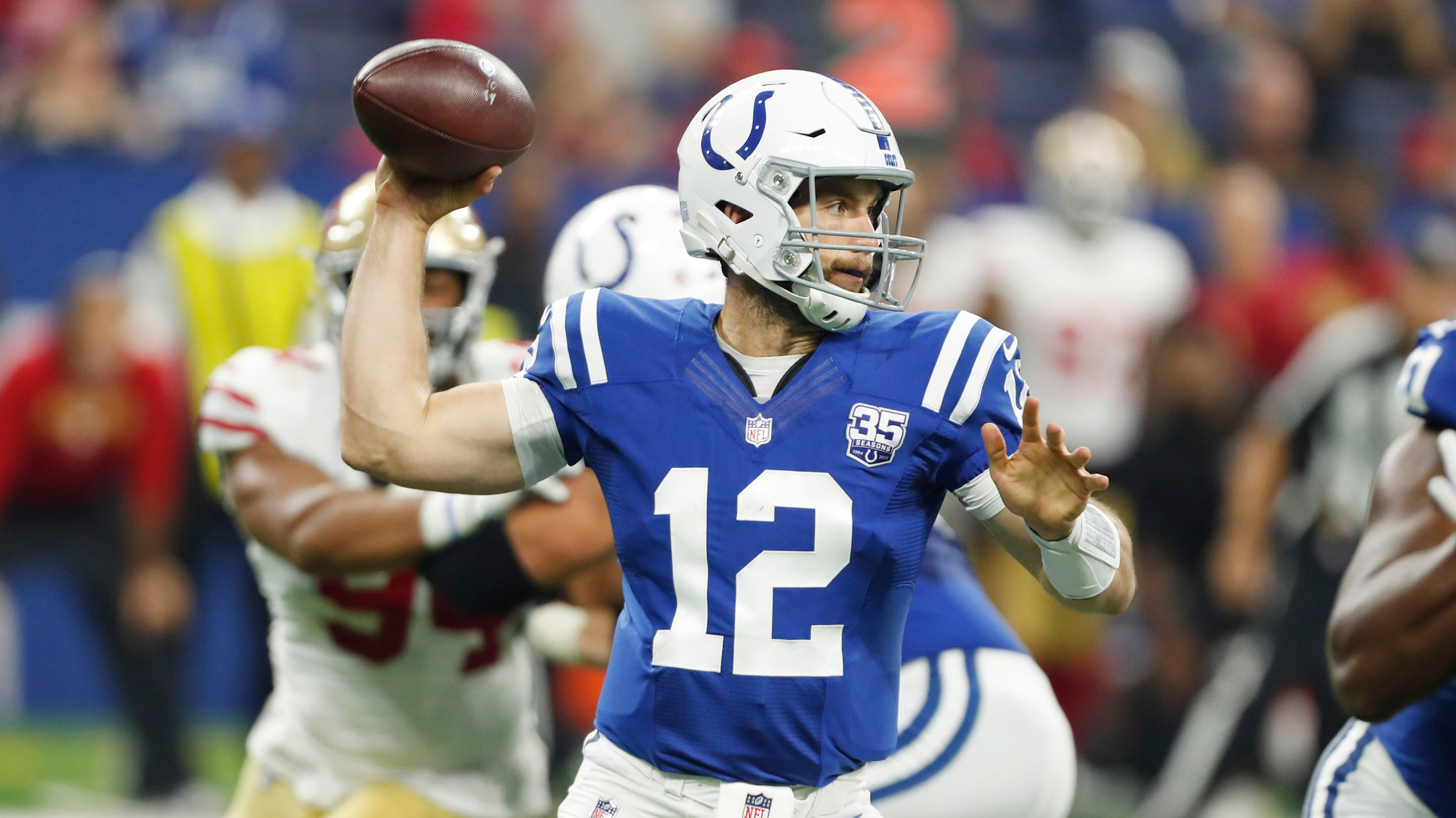 Fantasy Football Andrew Luck Cam Newton Values Rising Among Qbs
