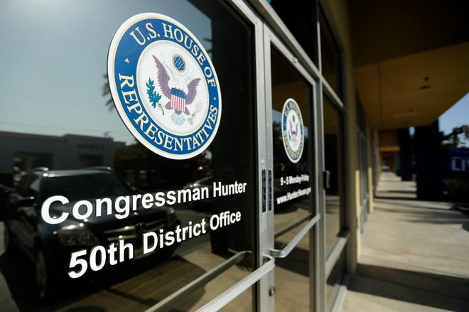 Rep. Duncan Hunter's office in El Cajon, California.