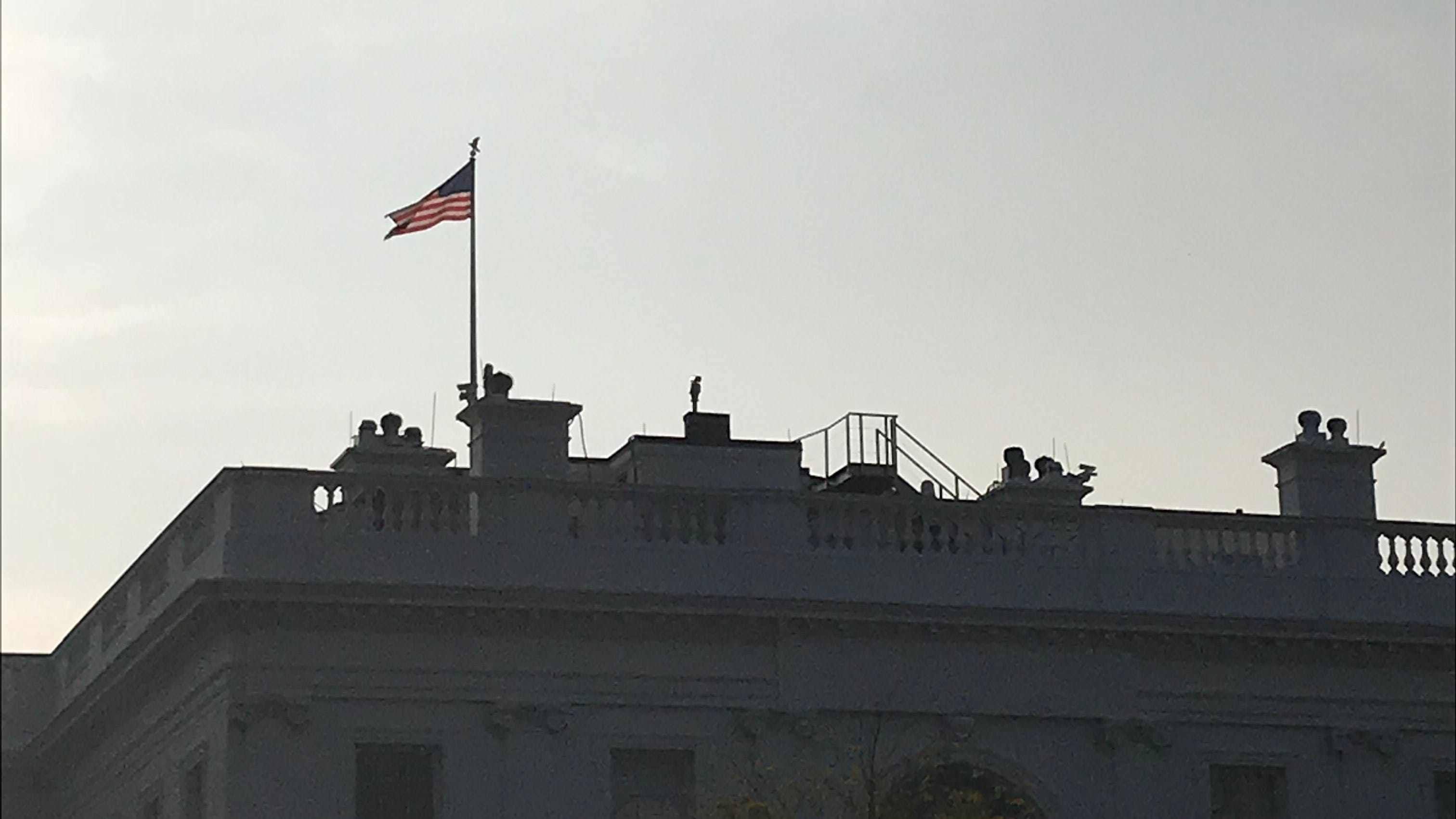 White House flags return to half-staff to honor Sen. John McCain after outcry