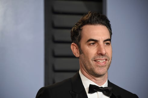 """""""Who Is America?"""" creator and star,  Sacha Baron Cohen in Beverly Hills in March."""