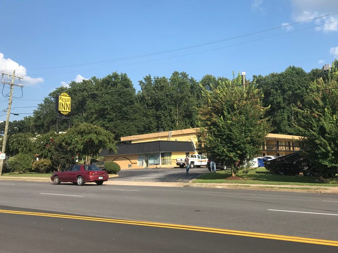 Greenville police are investigating a reported stabbing at a city motel.