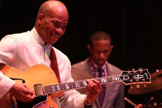 Russell Malone is the Saturday night headliner for Menasha's Fox Jazz Fest.