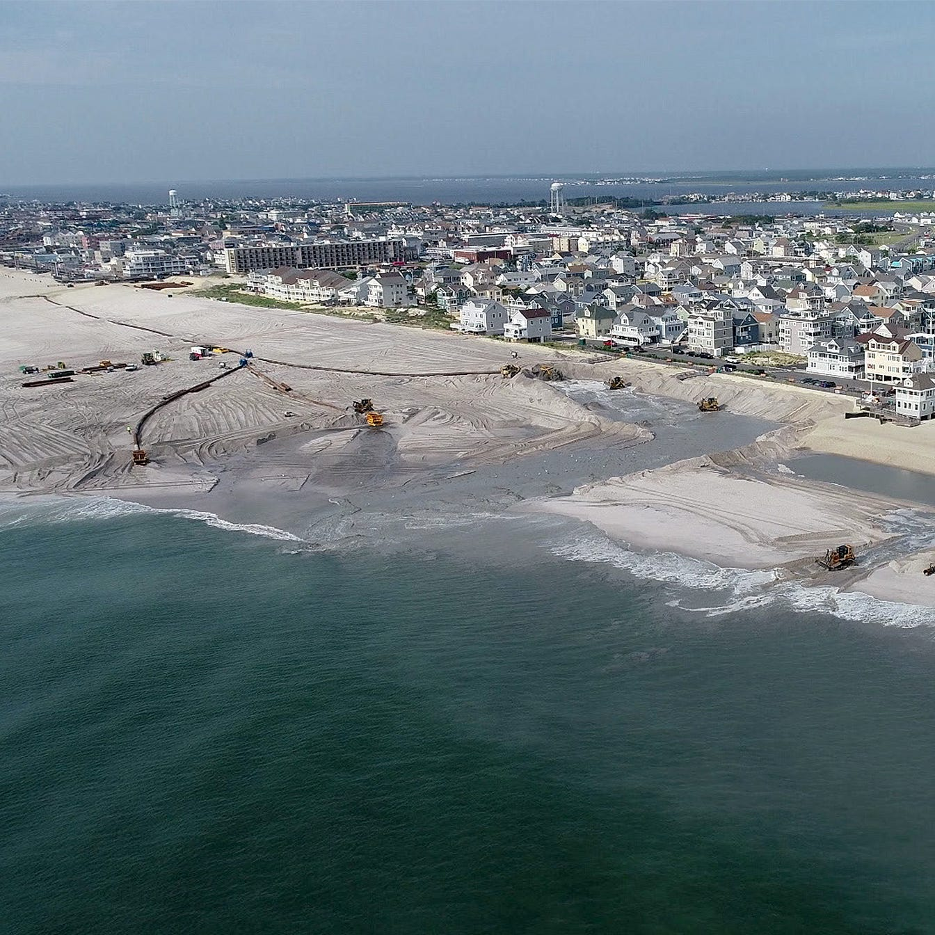 Will damage awards threaten beach replenishment? Donato