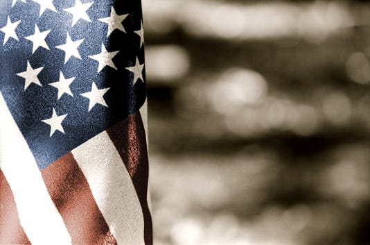 Usa Flag Toned