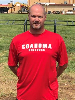 Coahoma football coach Chris Joslin