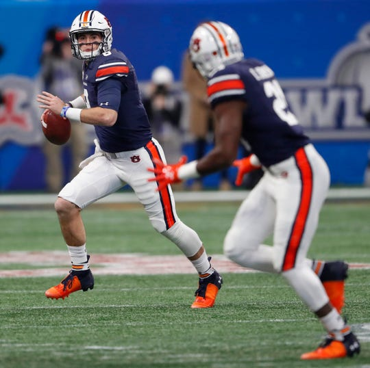 Auburn quarterback Jarrett Stidham will likely be one of the first players at his position selected in the 2019 NFL draft.