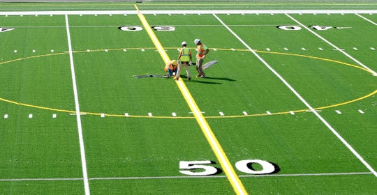 Kitsap Credit Union is paying $500,000 in sponsorship money for outdoor athletic facilities at the new Central Kitsap High School/Middle School campus, which will (at least for the next six years) be known as the Kitsap Credit Union Athletic Complex. The money will pay for bleachers for the new stadium.