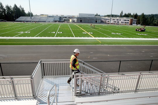 The Central Kitsap School District is using sponsorships to pay for amenities at new athletic fields at Central Kitsap High School and Klahowya Secondary School. Kitsap Credit Union will pay $500,000 for naming rights, which will go toward the purchase of bleachers at the new stadium at Central Kitsap High School.
