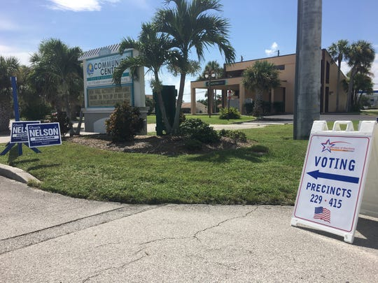 Voting at the David R. Schechter Community Center in Satellite Beach has gone smoothly so far.
