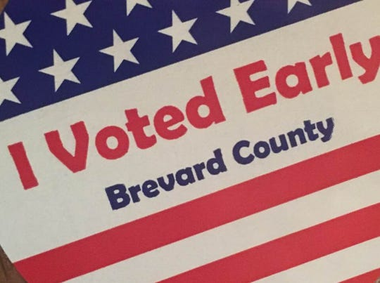 Primary colors: Total early voting number for Brevard County was 20,442 (with 9 provisionals).