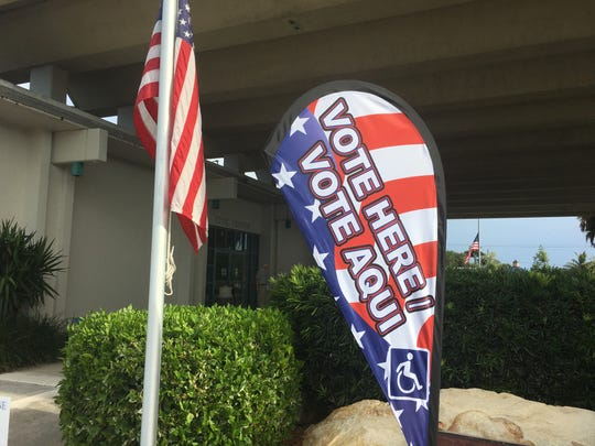 Primary voting is going smoothly at the Scotty Culp Municipal Complex in Satellite Beach.