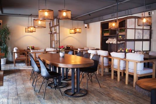 Modern European Cafe Interior