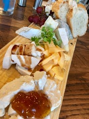 The cheese board at That Cozy Restaurant in Suntree was beautifully presented.