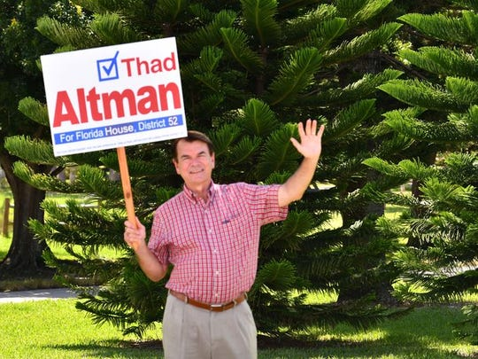 Rep. Thad Altman, R-Indialantic, won his primary battle for a reelection bid for  the 52nd House district.