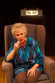 """Maura O'Brien portrays a renowned sex therapist in Lost Nation Theater's """"Becoming Dr. Ruth."""""""