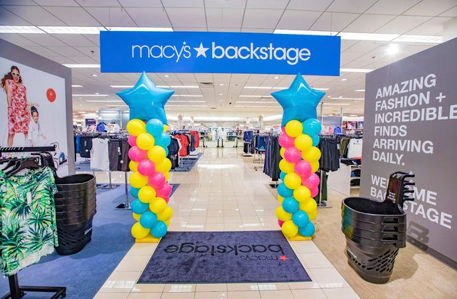 Macy's at Cherry Hill Mall will introduce Macy's Backstage, a store-within-a-store aimed at bargain hunters.