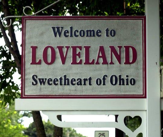 Loveland sign.