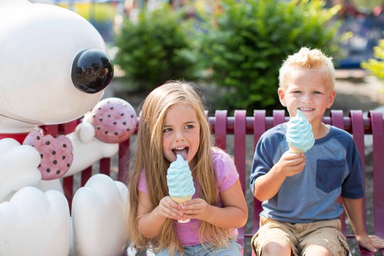 Blue Ice Cream is among many things available for just $1 over the Labor Day weekend at Kings Island and Soak City.