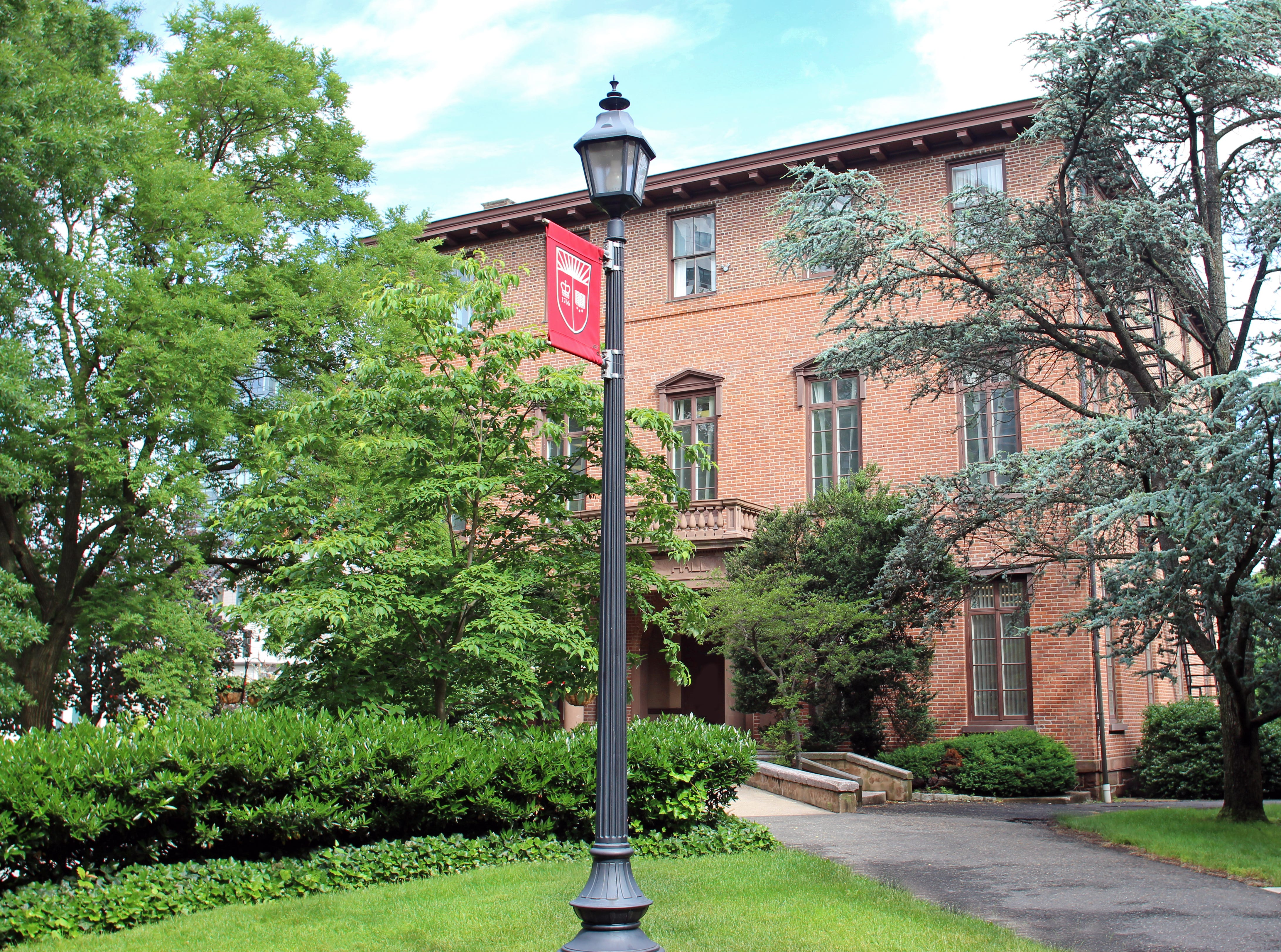 The new Alumni House at Van Nest Hall at Rutgers University-New Brunswick.
