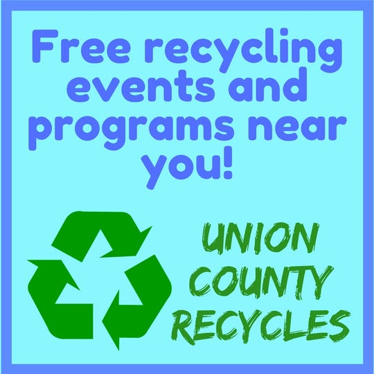 Union County's scrap metal recycling program will take place on Thursday, Sept. 6, and Saturday, Sept. 15.