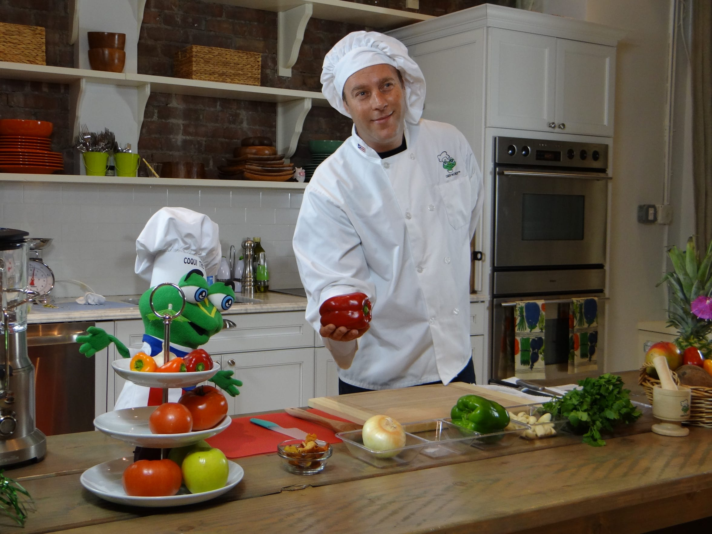 Christopher Ackerman, a research associate at the Center for Tobacco Studies at Rutgers School of Public Health and an amateur chef, teams up with Coqui the Chef to teach urban children how to cook nutritious recipes from inexpensive ingredients found in their neighborhood stores.