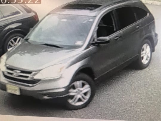South Brunswick police are looking to identify a man driving this car who allegedly peeked into other vehicles and homes along Major Road earlier this month.