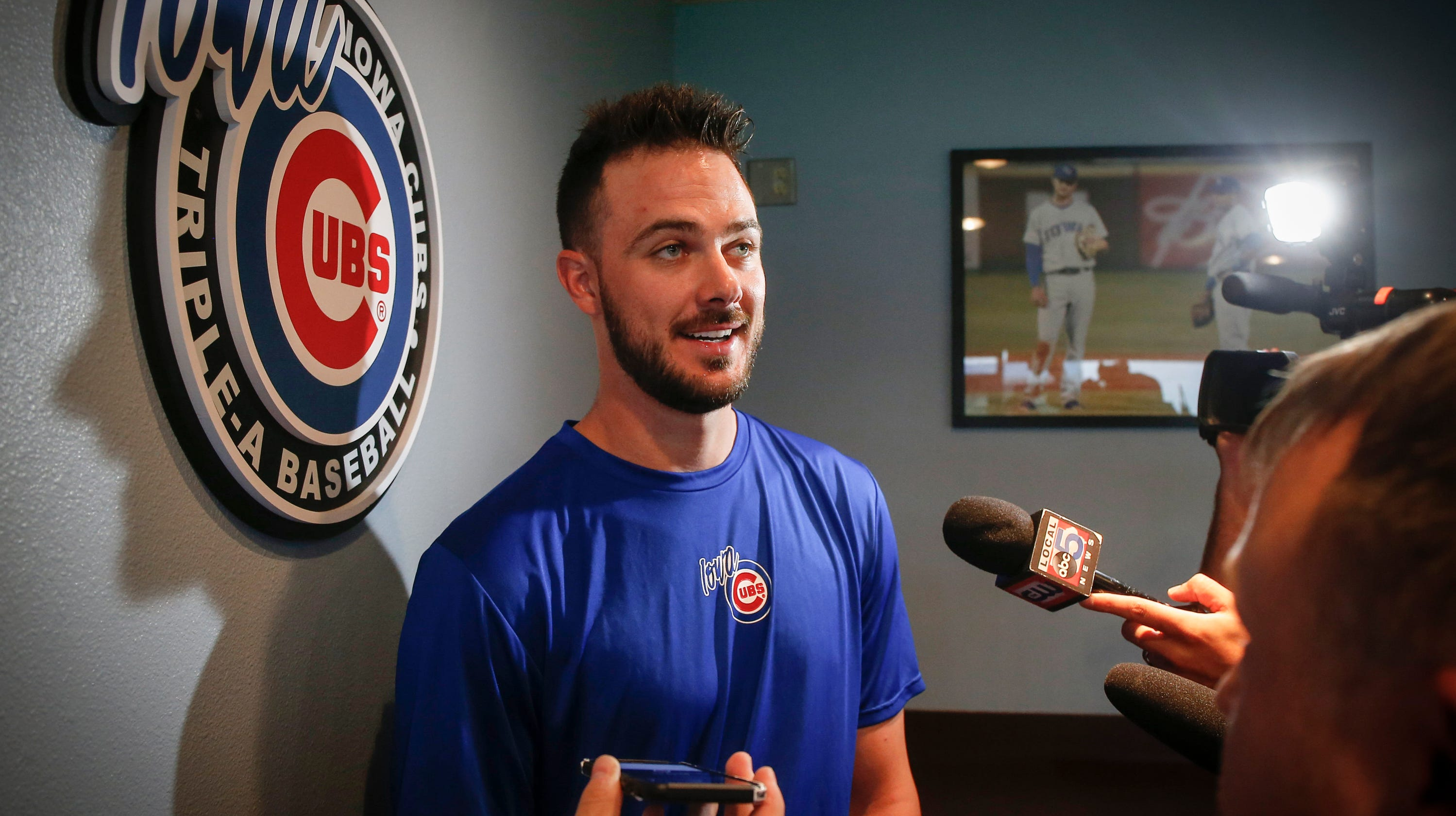 72070d96f84 Kris Bryant in Iowa  Difference in swing could be  game-changer  for slugger