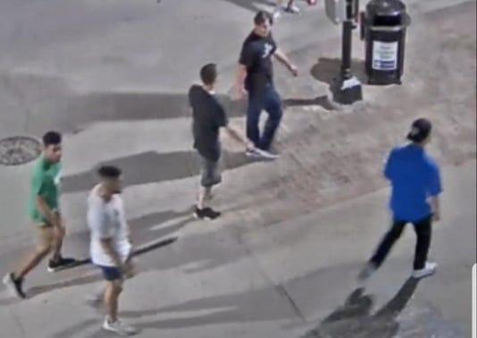 Des Moines assault suspects