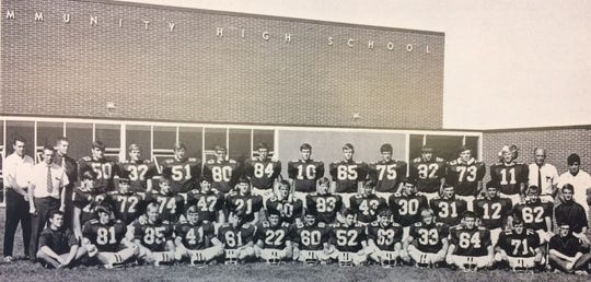 The 1970 Indianola High School football team was the last in a three-year run of undefeated teams between 1968 and 1970. The team scored 246 points and gave up 34 points.