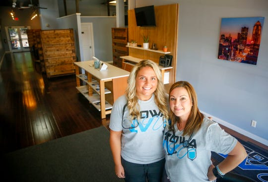 Hali Van Velzen and Kari Newman opened Iowa IV in the Shops at Roosevelt nearly two weeks ago. The non-medical center promises to hydrate, energize and help people recover from hangovers through intravenous hydration therapy.