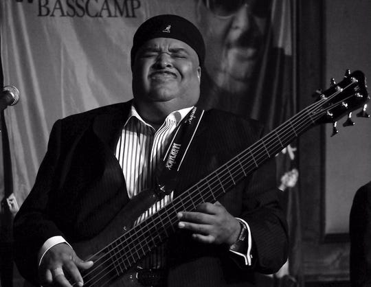 Bassist Ralphe Armstrong will celebrate the legacy of fusion at a performance at 5:30 p.m. Sunday.