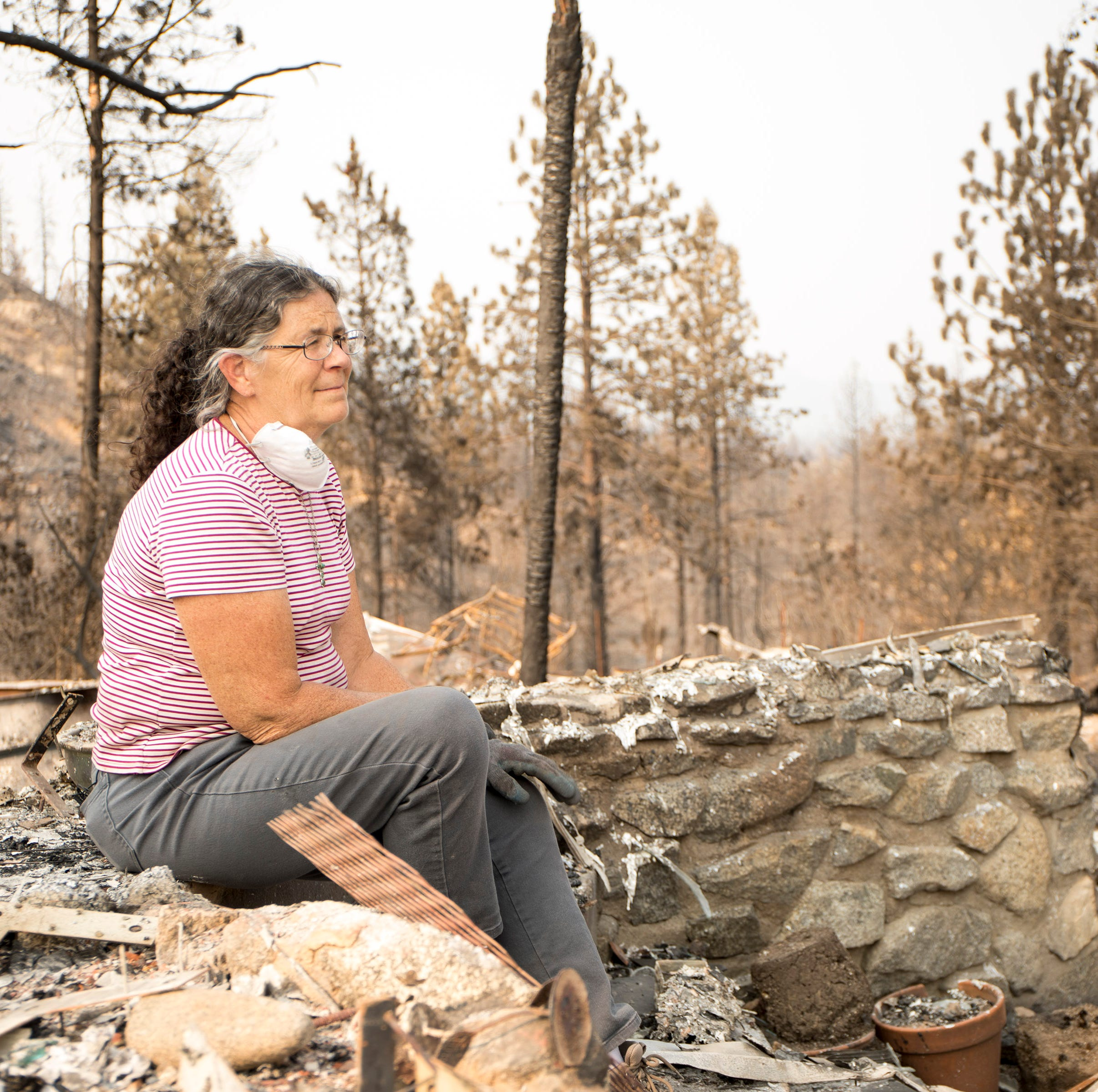 After the Carr Fire: Keswick wildfire survivor 'thinking about the future'