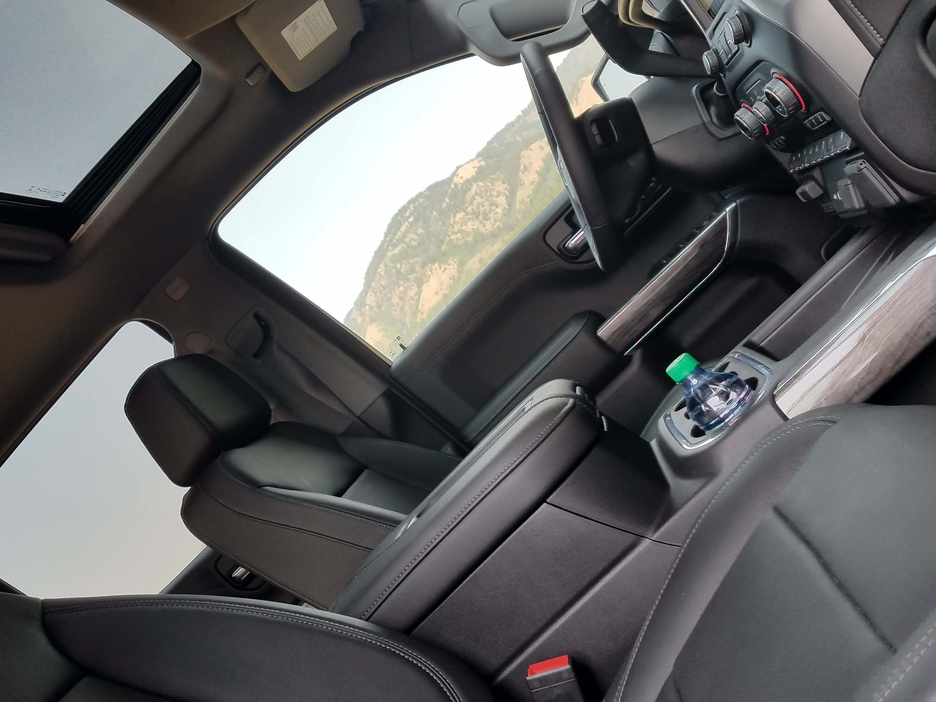 A sunroof is offered on the 2019 Chevy Silverado.