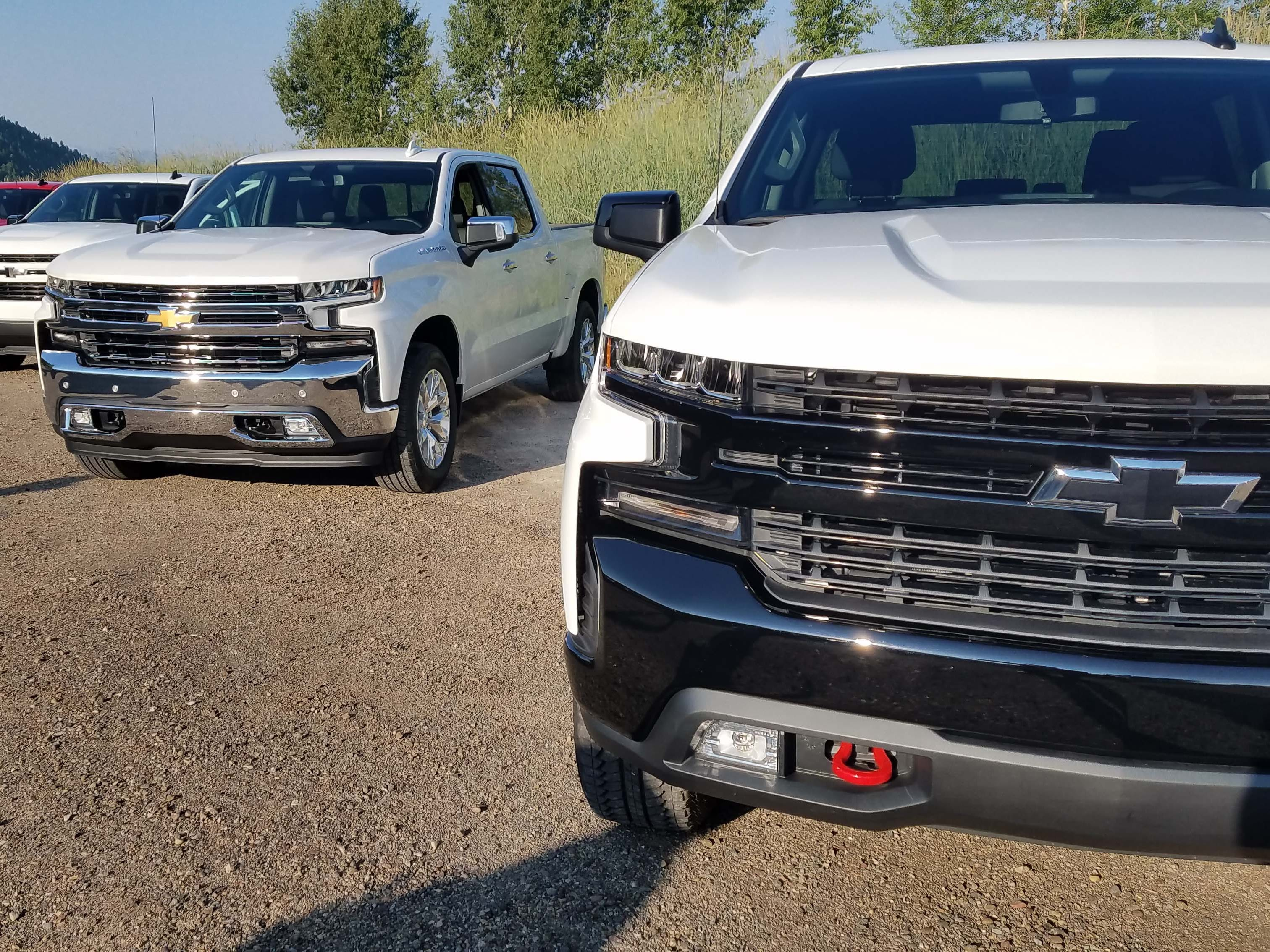 The Chevy Silverado offers eight trims — up from five in the previous gen — for 2019. All come with different fascias and features to satisfy everyone from a $35K work truck to a $65K High Country model.